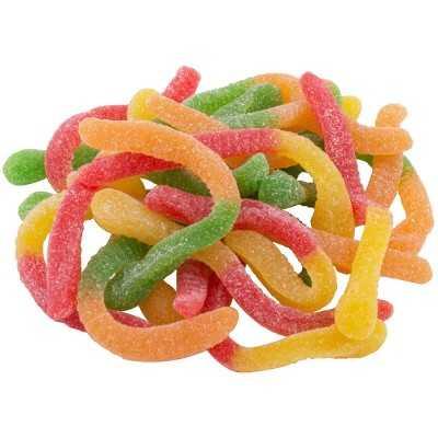 Frucht Schlangen Gezuckert 100g