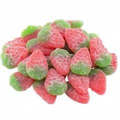 Wilde Erdbeeren Gezuckert 100g