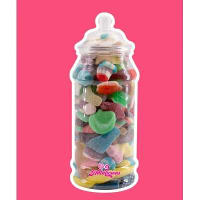 Victorian Jar PET mit 700g Fruchtgummi-Mix