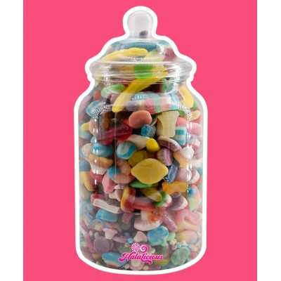 Victorian Jar PET mit 2500g Fruchtgummi-Mix