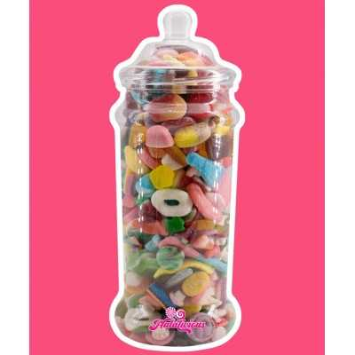 Victorian Jar PET mit 1800g Fruchtgummi-Mix