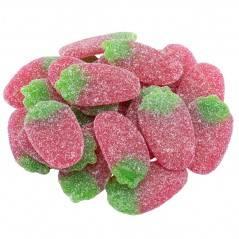Saure Erdbeeren - Vegan 100g