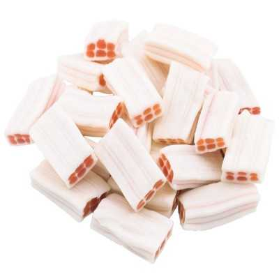 Strawberry & Cream Bricks 100g